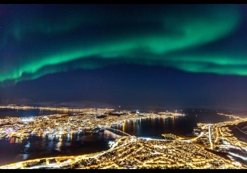 Aurora Borealis na Noruega - Tromso 3 dias/2 noites