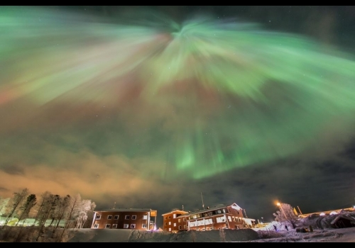 Aurora Borealis in Inari - Lapland in Finland 4 days/3 nights